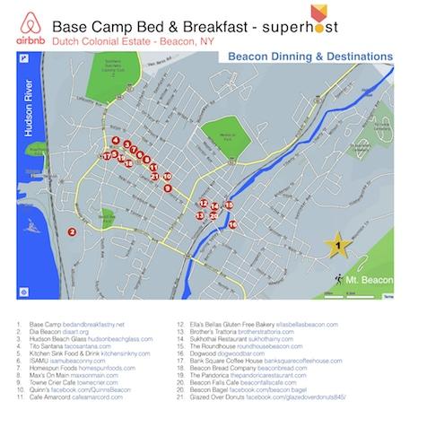 Destination Map Beacon